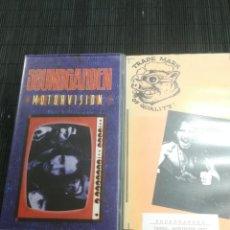 Vídeos y DVD Musicales: IMPRESIONANTE LOTE 2 VHS SOUNDGARDEN , MOTORVISION Y CONCIERTO TACONA WASHINTON 1992 UNICO. Lote 143904926