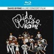 Vídeos y DVD Musicales: DAVID BYRNE. RIDE, RISE, ROAR (BLU-RAY). Lote 143981922