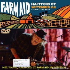 Vídeos y DVD Musicales: NEIL YOUNG + PROMISE OF THE REAL - FARM AID, HARTFORD, CONNECTICUT, SEPTEMBER 22, 2018 (DVD). Lote 144024834