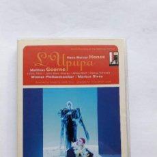 Vídeos y DVD Musicales: HENZE - L'UPUPA UND DER TRIUMPH DER SOHNESLIEBE / GOERNE, AIKIN, AINSLEY, MUFF, KOHLER, STENZ, SALZB. Lote 144062922