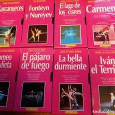 Vídeos y DVD Musicales: BALLETS CLÁSICOS EN VÍDEOS VHS (LOTE DE 17 VÍDEOS). Lote 144323398