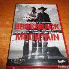 Vídeos y DVD Musicales: BROKEBACK MOUNTAIN OPERA ORCHESTRA AND CHORUS TEATRO REAL MADRID DVD PRECINTADO 2015 ESPAÑA. Lote 144501758