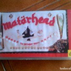 Vídeos y DVD Musicales: VIDEO DE MOTORHEAD THE BIRTHDAY PARTY ORIGINAL VHS. Lote 144621042