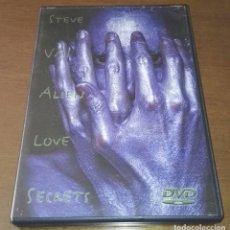 Vídeos y DVD Musicales: STEVE VAI ALIEN LOVE SECRETS DVD. Lote 144962058