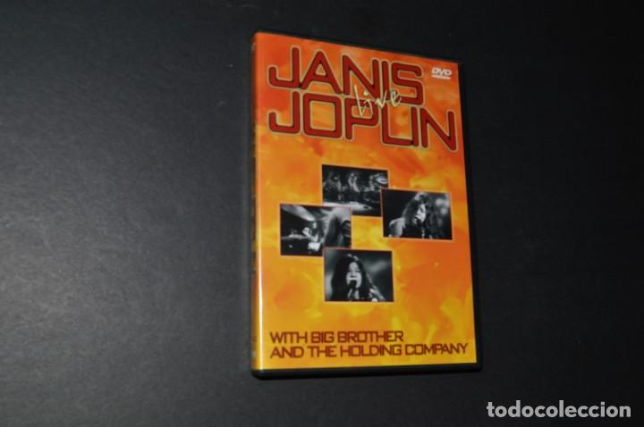 JANIS JOPLIN - LIVE - WITH BIG BROTHER AND THE HOLDING COMPANY (Música - Videos y DVD Musicales)