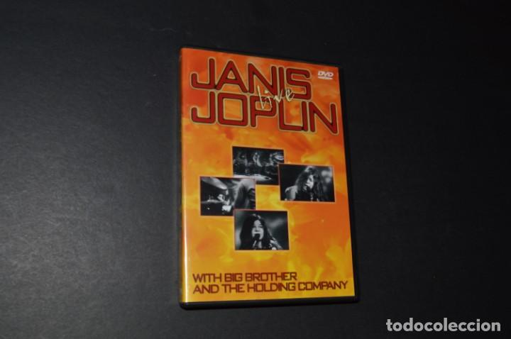 Vídeos y DVD Musicales: JANIS JOPLIN - LIVE - WITH BIG BROTHER AND THE HOLDING COMPANY - Foto 3 - 145948194