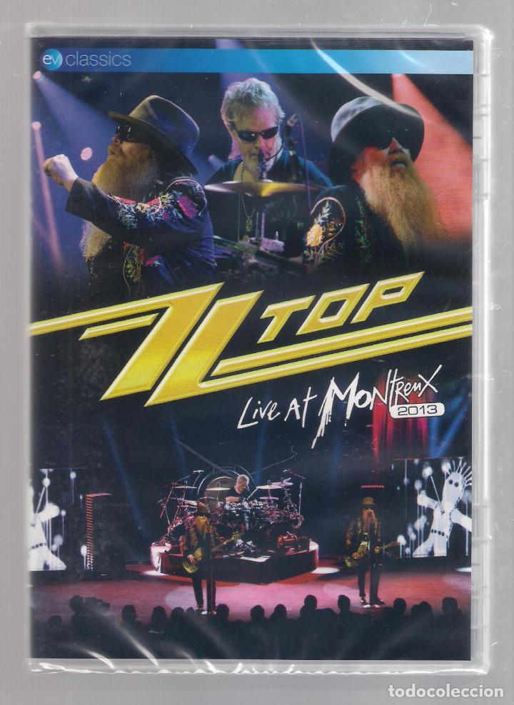 ZZ TOP - LIVE AT MONTREAUX 2013 (DVD 2014) PRECINTADO (Música - Videos y DVD Musicales)
