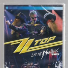Vídeos y DVD Musicales: ZZ TOP - LIVE AT MONTREAUX 2013 (DVD 2014) PRECINTADO. Lote 146417858