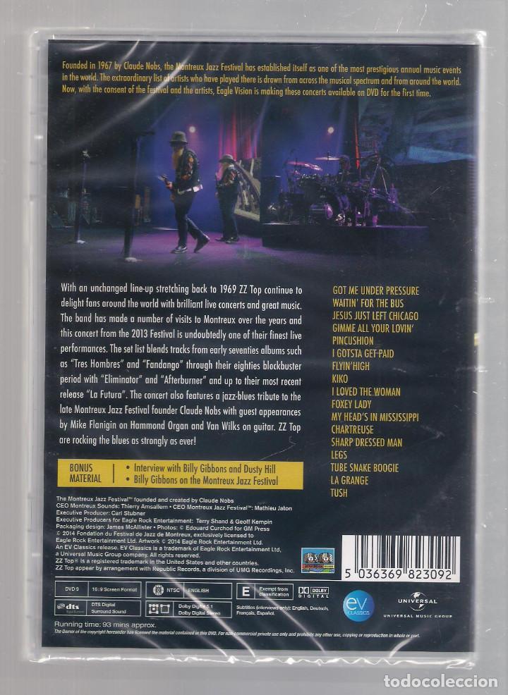 Vídeos y DVD Musicales: ZZ TOP - Live At Montreaux 2013 (DVD 2014) PRECINTADO - Foto 2 - 146417858