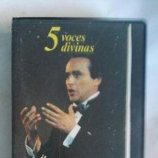Vídeos y DVD Musicales: LO MEJOR DE JOSÉ CARRERAS VHS ÓPERA. Lote 146560517