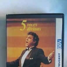 Vídeos y DVD Musicales: LO MEJOR DE PLÁCIDO DOMINGO VHS ÓPERA. Lote 146560785
