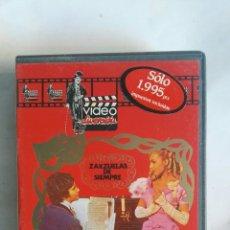 Vídeos y DVD Musicales: BOHEMIOS ZARZUELAS DE SIEMPRE VHS. Lote 146697869