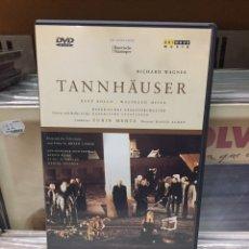 Vídeos y DVD Musicales: TANNHÄUSER. RICHARD WAGNER, DIRIGIDO POR DAVID ALDEN. Lote 146832214
