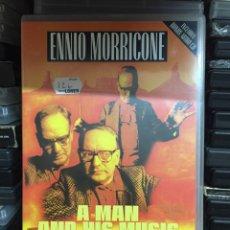 Vídeos y DVD Musicales: ENNIO MORRICONE, A MAN AND HIS MUSIC.. Lote 146848514