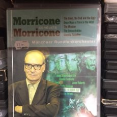 Vídeos y DVD Musicales: MORRICONE CONDUCTS MORRICONE. MÜNCHNER RUNDFUNKORCHESTER.. Lote 146849137