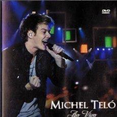 Vídeos y DVD Musicales: MICHEL TELÓ AO VIVO (DVD). Lote 146913870