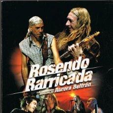 Vídeos y DVD Musicales: ROSENDO BARRICADA ¨OTRA NOCHE SIN DORMIR¨ ( 2 DVD + 1 CD). Lote 146914882