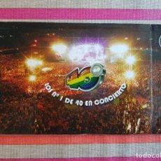 Vídeos y DVD Musicales: LOS Nº 1 DE 40 EN CONCIERTO. LOS 40 PRINCIPALES. 40 ANIVERSARIO (2006). 2 DVD. Lote 146959646