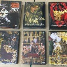 Vídeos y DVD Musicales: SEMANA SANTA LOTE 002-ENVÍO GRATIS-NUEVOS Y PRECINTADOS. Lote 146982842