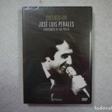 Vídeos y DVD Musicales: JOSE LUIS PERALES - CANCIONES DE UN POETA - DVD PRECINTADO . Lote 147052906