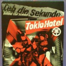 Vídeos y DVD Musicales: TOKIO HOTEL - LEB DIE SEKUNDE (BEHIND THE SCENES) - DVD. Lote 147291586