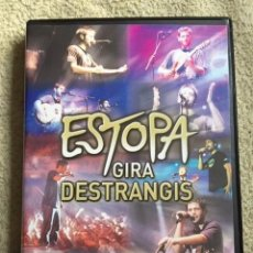 Vídeos y DVD Musicales: ESTOPA DVD **GIRA DESTRANGIS**. Lote 147596886