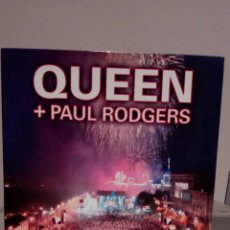 Vídeos y DVD Musicales: QUEEN+PAUL RODGERS LIVE IN UKRAINE. Lote 147657272
