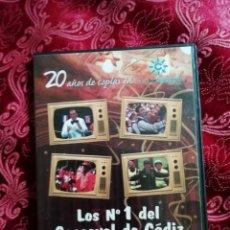 Vídeos y DVD Musicales: LOS NUMEROS 1 DEL CARNAVAL DE CADIZ DVD AÑOS 80 VOLUMEN 5. Lote 147677850