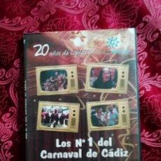 Vídeos y DVD Musicales: LOS NUMEROS 1 DEL CARNAVAL DE CADIZ DVD AÑOS 80 VOLUMEN 2. Lote 147677970