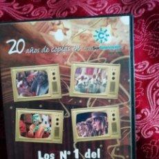 Vídeos y DVD Musicales: LOS NUMEROS 1 DEL CARNAVAL DE CADIZ DVD AÑOS 80 VOLUMEN 4. Lote 147678046
