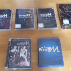 Vídeos y DVD Musicales: BONEY M COLECCION 5 DVD CONCIERTOS + VIDEOS + TV. Lote 147723069