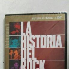 Vídeos y DVD Musicales: HISTORIA DEL ROCK DVD PRECINTADO. Lote 147729617