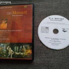 Vídeos y DVD Musicales: DVD MOZART - DON GIOVANNI - SIR PETER USTINOV - ERICH LEINSDORF - THE SALZBURG. Lote 148043286