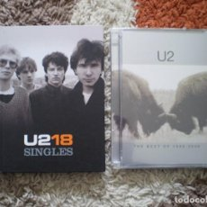 Vídeos y DVD Musicales: U2. SINGLES CD+DVD Y U2 DVD THE BEST OF 1990-2000. OCASION. Lote 148283050