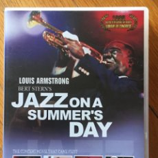 Vídeos e DVD Musicais: LOUIS ARMSTRONG BERT STERN`S JAZZ ON A SUMMERS DAY. Lote 148550130