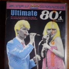 Vídeos y DVD Musicales: KARAOJE EN DVD - SUNFLY - ULTIMATE 80´S II COMPATIBLE PLAYSTATION 2, XBOX - PROFESIONAL Y FAMILIAR . Lote 148694326