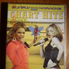 Vídeos y DVD Musicales: KARAOKE EN DVD - SUNFLY - CHART HITS VOL. 7 COMPATIBLE PLAYSTATION 2, XBOX - PROFESIONAL Y FAMILIAR. Lote 148695082