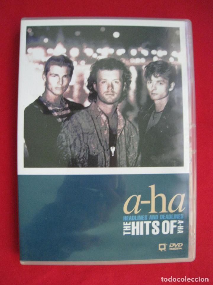 Vídeos y DVD Musicales: DVD - A-HA - HEADLINES AND DEADLINES - THE HITS OF A-HA. - Foto 2 - 148837098