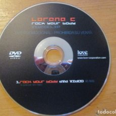 Vídeos y DVD Musicales: LORENA C ROCK YOUR BODY VIDEOCLIP PROMO LOVE CORPORATION. Lote 148995922