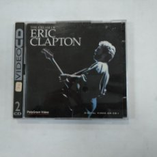 Vídeos y DVD Musicales: ERIC CLAPTON. THE CREAM OF. VIDEO CD. 2 CD'S. TDKV25. Lote 149309474