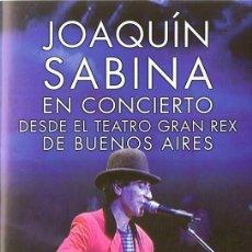 Vídeos y DVD Musicales: JOAQUIN SABINA EN CONCIERTO DESDE EL TEATRO GRAN REX DE BUENOS AIRES . Lote 149483462