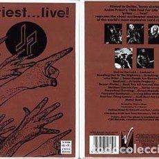 Vídeos y DVD Musicales: JUDAS PRIEST ... LIVE - VHS PRACTICAMENTE NUEVO - ENVIO GRATIS. Lote 149510930