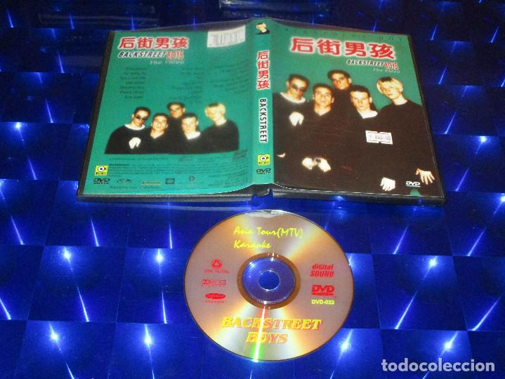 BACKSTREET BOYS ( THE VIDEO ) - DVD-023 - HOLLYWOOD RECORDS - ASIA TOUR (MTV) / KARAOKE -MUY DIFICIL (Música - Videos y DVD Musicales)