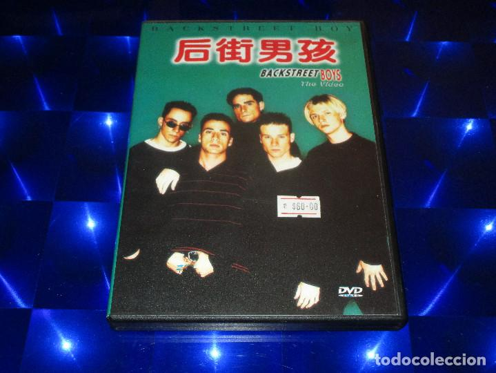 Vídeos y DVD Musicales: BACKSTREET BOYS ( THE VIDEO ) - DVD-023 - HOLLYWOOD RECORDS - ASIA TOUR (MTV) / KARAOKE -MUY DIFICIL - Foto 2 - 150134670