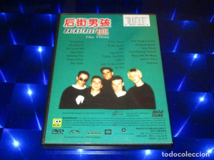 Vídeos y DVD Musicales: BACKSTREET BOYS ( THE VIDEO ) - DVD-023 - HOLLYWOOD RECORDS - ASIA TOUR (MTV) / KARAOKE -MUY DIFICIL - Foto 3 - 150134670