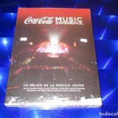Vídeos y DVD Musicales: COCA COLA MUSIC EXPERIENCE - 2 CD + DVD - 5419692812 - WARNER MUSIC - PRECINTADO. Lote 150146858
