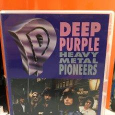 Vídeos y DVD Musicales: DVD DEEP PURPLE HEAVY METAL PIONNERS. Lote 150200997