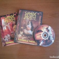 Vídeos y DVD Musicales: NAPALM DEATH- PUNISHMENT FOR CAPITALS. Lote 150213606