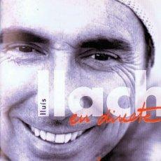 Vídeos y DVD Musicales: LLUIS LLACH EN DIRECTE AL LICEU GIRA JOCS. Lote 150237158