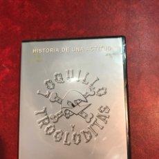 Vídeos y DVD Musicales: LOQUILLO Y LOS TROGLODITAS DE 2002. Lote 150738145